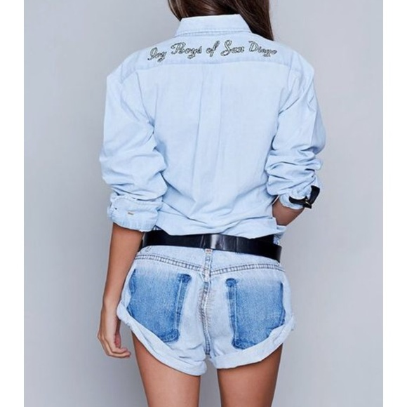 03a3e8827ea7 One Teaspoon Denim Romper